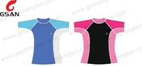 Plain custom kids rash guard anti-UV swimwear for kids