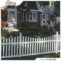 Uv Proof Vinyl Fence Colors , Picket Fence,
