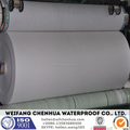 Waterproof nonwoven fabric, polyester reinforcement for bitumen membrane production