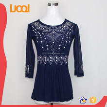 Excellent Quality Formal Womens Crochet Tops Blouses Designs 2015