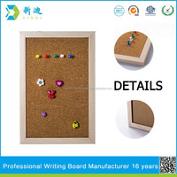 Lanxi xindi small decorative cork boards for gifts