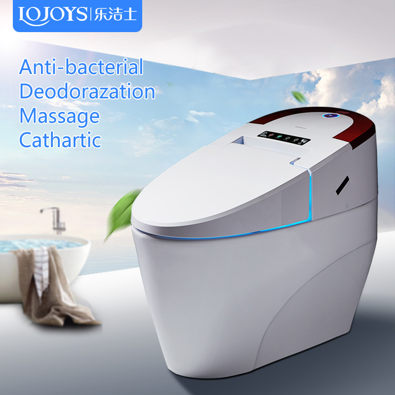 Chinese manufacturer ceramic sanitary ware floor mounted Smart Intelligent Toilet