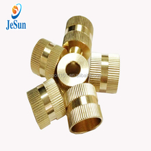 Good quality and low price M6 brass blind thread insert for plastic