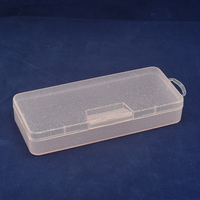 Small Transparent PP Plastic Storage cases clear square display cases