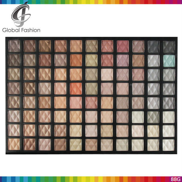 Private label cosmetics OEM accept 88 color cheap eyeshadow palette