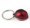Cutomized colour stainless steel metal 3d motorcycle helmet key chains rings tags pendants