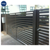 hot sell cheap aluminum fence, main gate and fence wall design