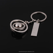 Commodity exports practical jewelry wholesale rotation of the Earth keychain