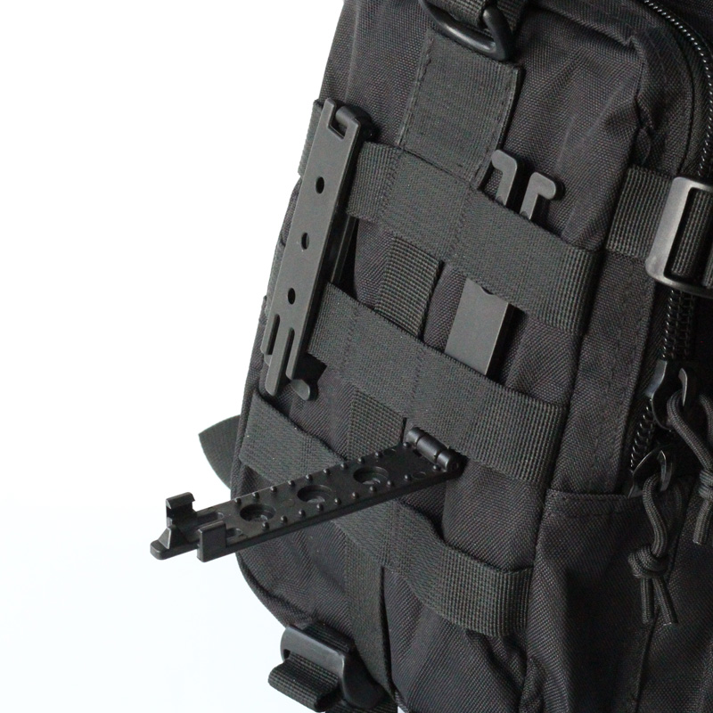 QingGear Small Molle-Lok Mag Carrier for Molle System Strap Attachment With Mounting Hardware