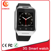 Wholesale price supports Android 4.4 system,WIFI Bluetooth GPS 3G smart watch
