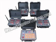96 cues firing system,remote control system,wireless control, 500M remote control + sequential fire+ rapid fire,DBR02-X24/96