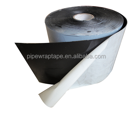 Pipeline double sided adhesive butyl rubber tape inner anti-corrosion tape