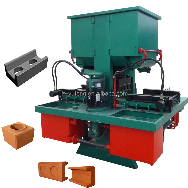 Manual interlocking cement brick block making machine price