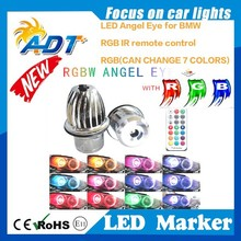 Promotion time rgb led angel eyes for e83 E87 E60 E61 E63 E65 E66 E64 E83 E53