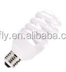 ISO UL CE LVD EMC RoHS SASO approved E27 15W fluorescent light bulb energy saving lamp cfl street light