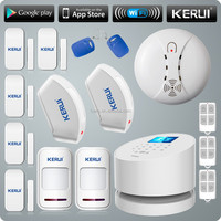 KERUI New Product WiFi Alarm System Door gap sensor Internet GSM Alarm System Home Alarm Security