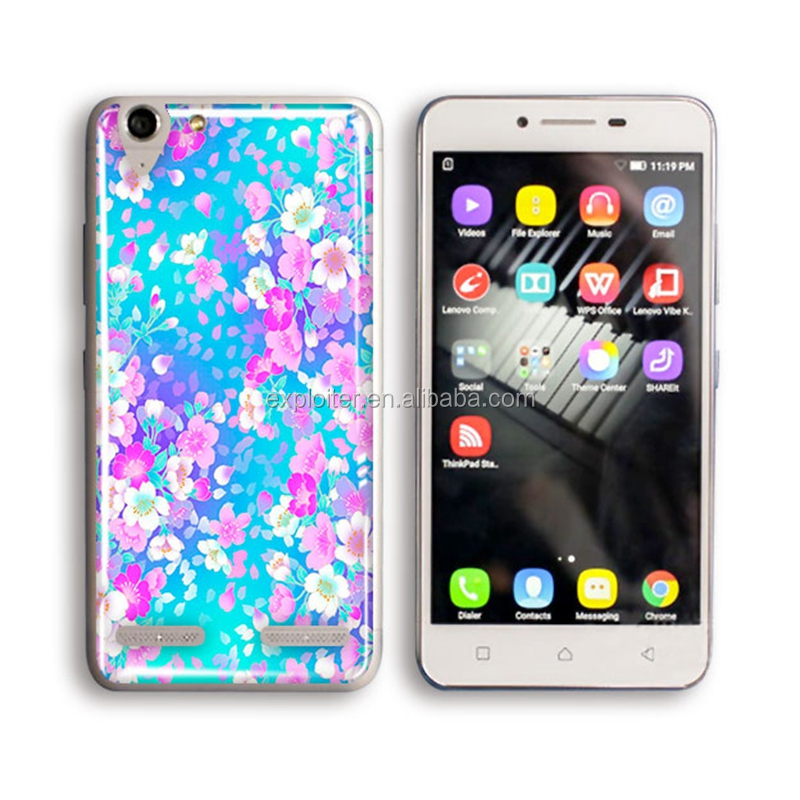 Custom print design soft gel resin back cover case for lenovo p780