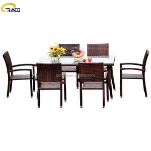 Cheap Outdoor Gargen Table and Chair for Restaurant