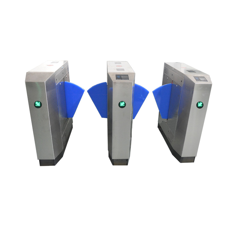 automatic rfid card reader access control gate flap turnstile gate openers