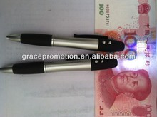 Money detector pen with infrared