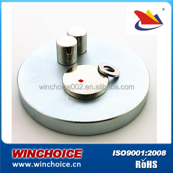 Super power Electromagnetic Radial Neodymium Disc Magnet Ring in Cylinder shape