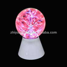 Mini magic family decoration 5 inch plasma light with christmas tree