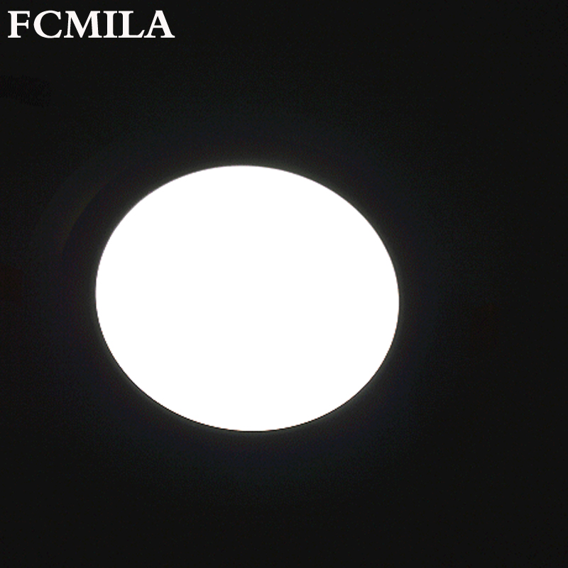 LED flat light round ceiling LED panel light 18W LED down light downlight AC85-265V die cast aluminum PMMA CE ROHS ship from US