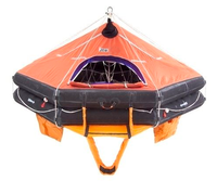 20 persons Marine inflatable life raft type D