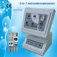 AU-708 5 in 1 Microdermabrasion Instrument-Facial Equipment Ultrasonic and Skin Scrubber Beauty Machine
