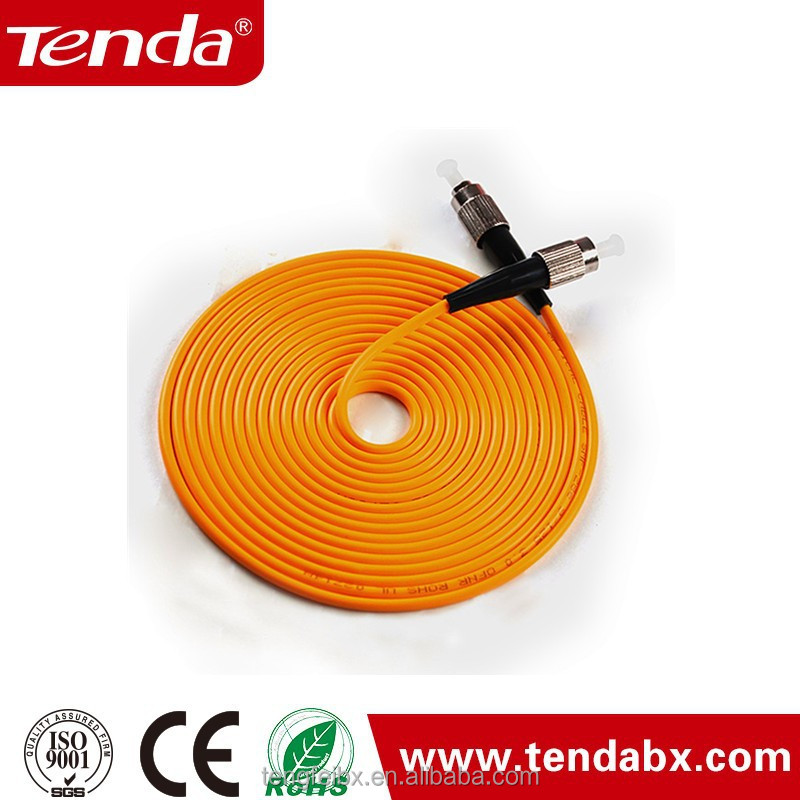 Big Discount UL Listed FC ST SC LC Duplex OM3 Fiber Optic Patch Cable Manufacturer