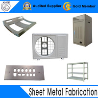 High precision sheet metal fabrication machine parts
