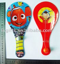 Hot China products wholesale Plastic paddle bouncing ball game