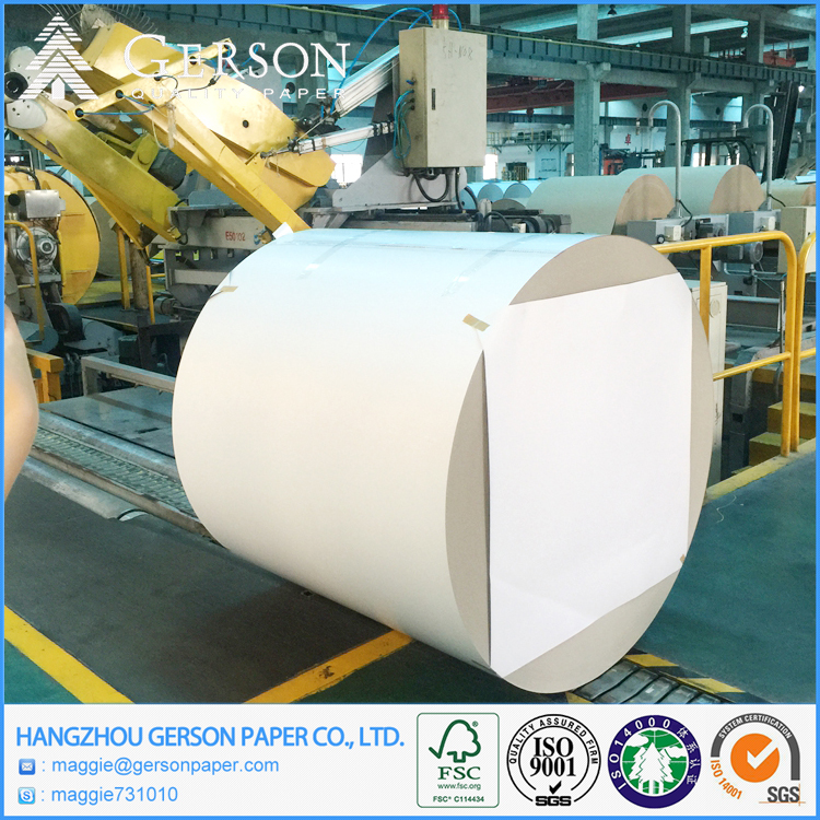 Gerson Brand 230g-500gsm White Coated Duplex Board With Grey Back