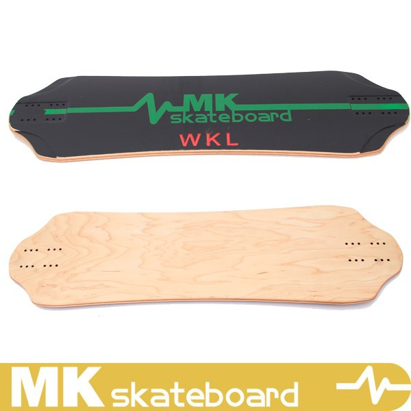 8 ply russian maple longboard skateboard,MK skateboard deck