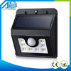 alibaba brasil 8led Solar sensor Outdoor Pillar Gate Light For Garden