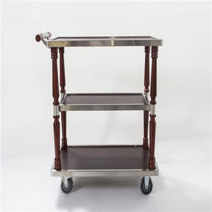 Hotel serving cart ,mini bar trolley wine serving cart