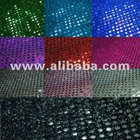 AMERICAN KNIT 3MM SPANGLE MESH FABRIC (MADE IN KOREA)