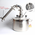 BZ025 Gas Household Double Stainless Steel Eco Portable Electric Automatic Water Distiller Copper Pot Still Distillation