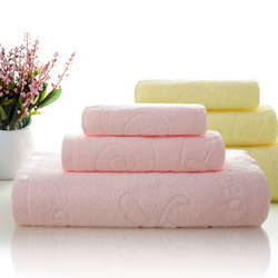 made in china promotional personal custom european standard 100% cotton 70x140cm super soft plain hotel bath towel set