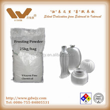 Glass frosting powder for flat glass, window, wine bottle, doors
