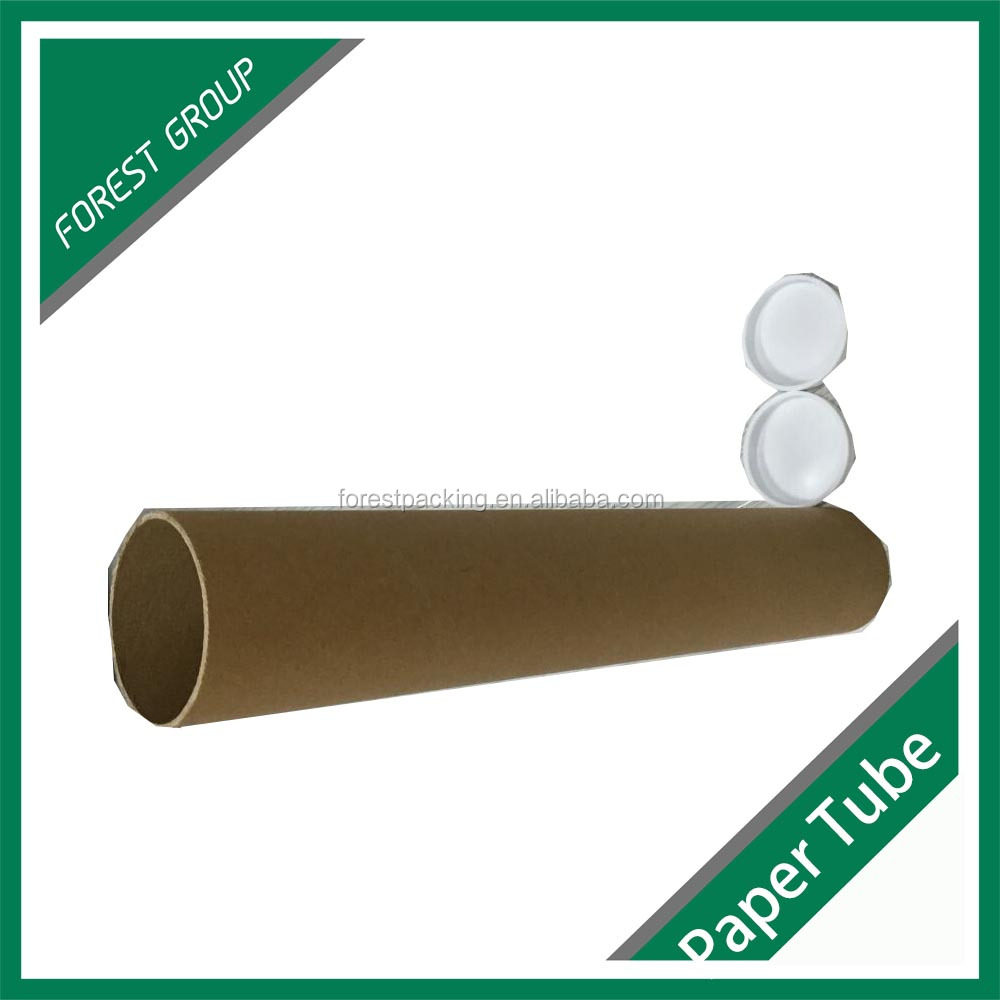 Custom brown kraft paper tubes made in china buy brown for Kraft paper craft tubes