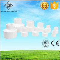 plasctic pvc water pipe fitting--reducer