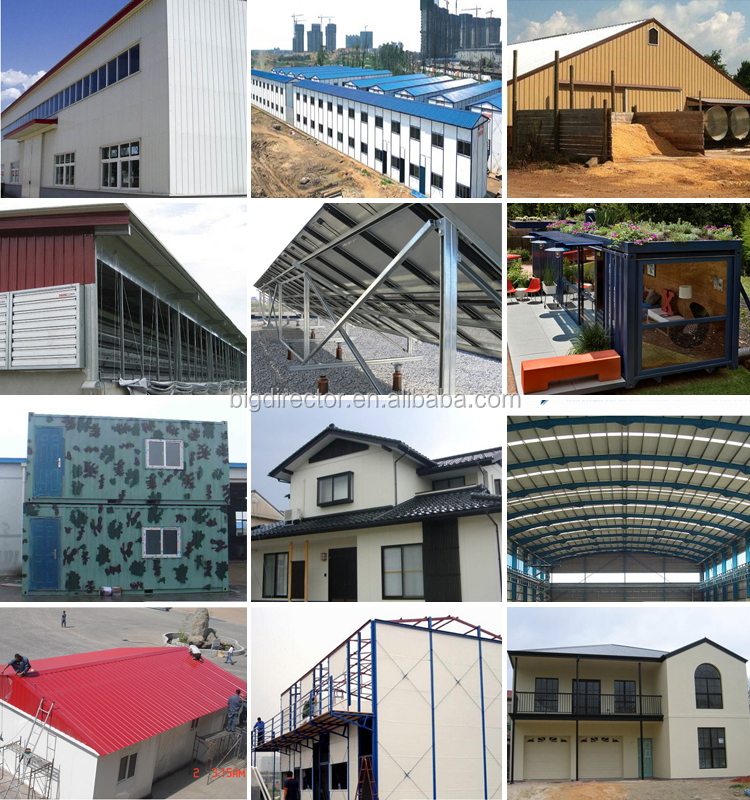Portable Steel structure prefabricated steel structure aircraft hangar