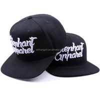 Custom Design Your Own Snapback Hat Cap with 3D Embroidery Logos, Hip Hop Snap Back Hat