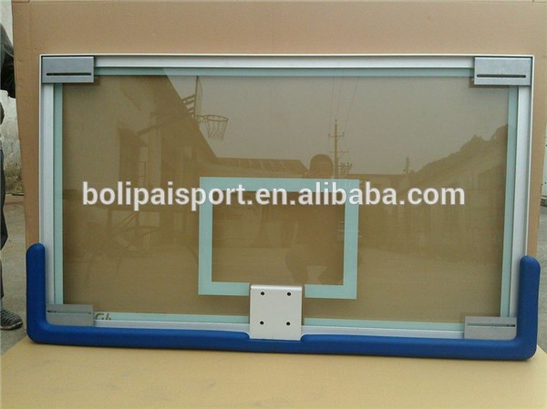 Best Quantity Transparent Acrylic/Tempered Glass Basketball Backboard