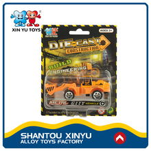 Small vehicle diecast engineering series import toys from china