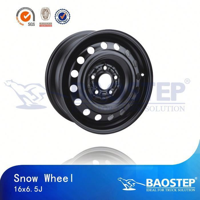 BAOSTEP Brand New Design Wholesale Manufacturer 5X114.3 Deep Dish Steel Wheels