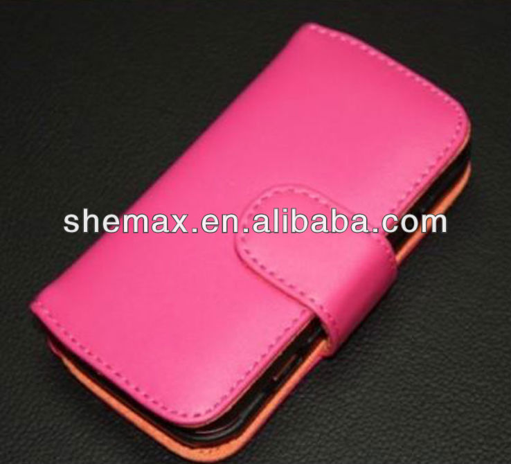 Hot leather flip case cover for nokia N97 wallet 2013