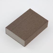 Good adoption to profiled surface Abrasive sponge foam sanding block