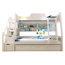 Factory Price Twin Loft Bed Kids Bedroom Furniture Bunk Bed  Made in China
